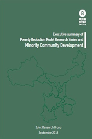Executive Summary of Poverty Reduction Model Research Series and Minority Community Development