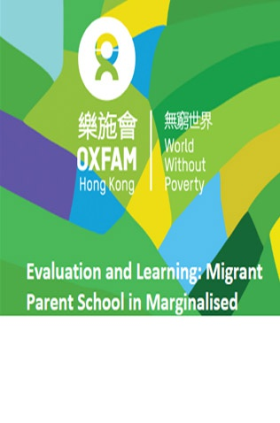 Evaluation and Learning of Migrant Parent School in Marginalised Communities