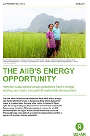 The AIIB's Energy Opportunity